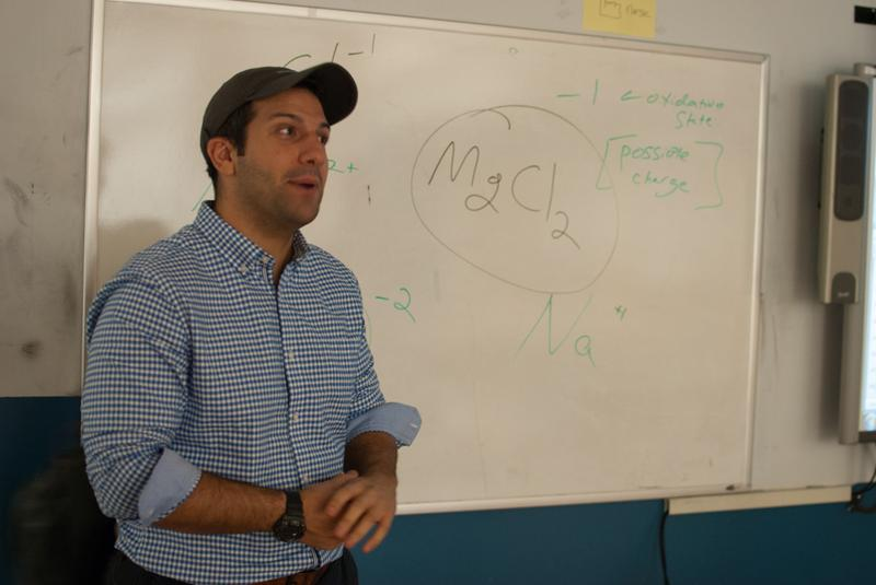 Dan Fanelli teaches at a teacher-led school