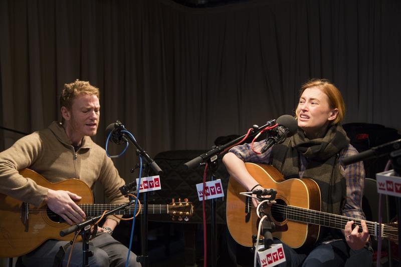 Teddy and Kami Thompson at WNYC