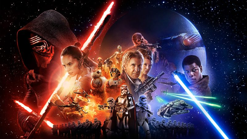 Promotional image for 'Star Wars: The Force Awakens.'