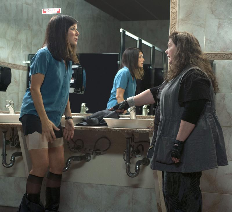 Sandra Bullock and Melissa Mccarthy in <em>The Heat</em>