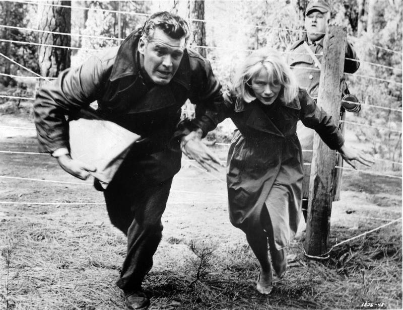 James Garner and Eva Marie Saint in the WWII drama '36 Hours.' Dimitri Tiomkin composed the score.