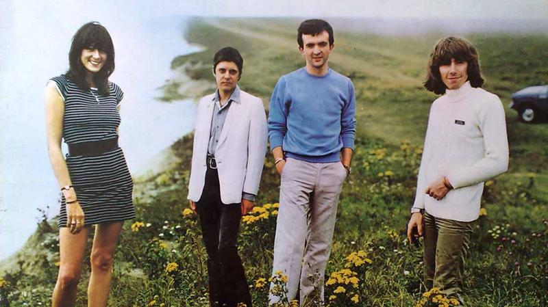"Cover of the 1979 album ""20 Jazz Funk Greats"" from industrial music pioneers Throbbing Gristle."