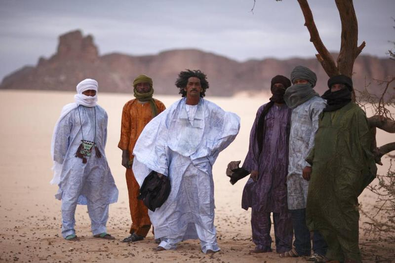 Tinariwen is made up of Tuareg-Berber musicians from Northern Mali.