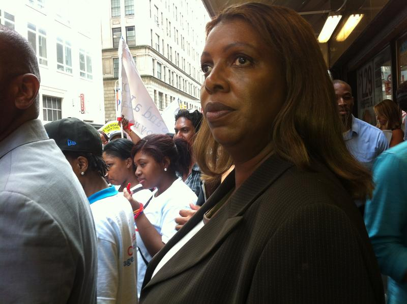 Tish James won the runoff for public advocate.