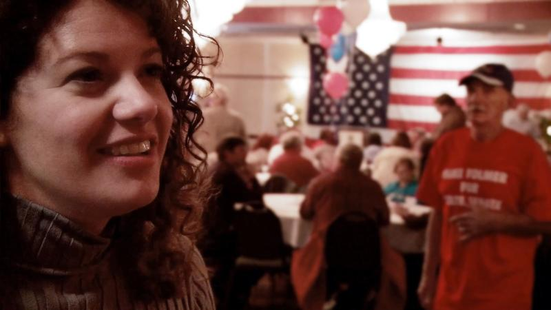 "Katy Abram, a protagonist in the documentary ""Town Hall"" which tracks the rise of the Tea Party"