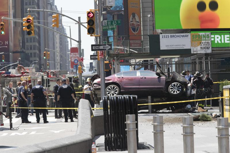 Richard Rojas, 26, Identified As Driver In Fatal Crash — Times Square Crash