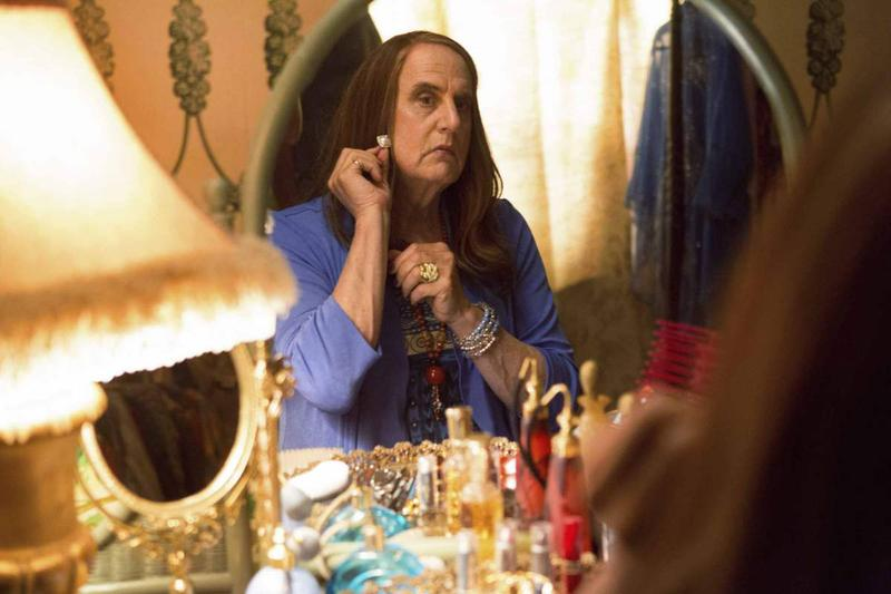 "Actor Jeffrey Tambor as ""Maura"" in the new Amazon show ""Transparent."""