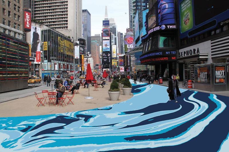 Times Square pedestrian plaza