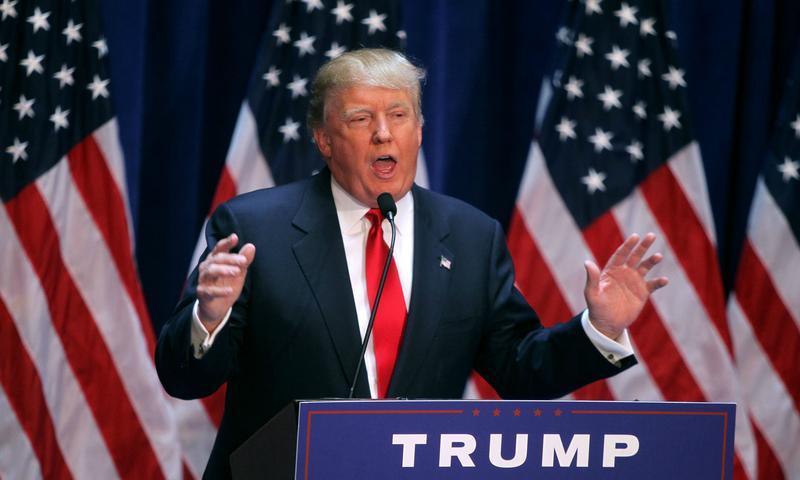 Donald Trump announces his presidential bid