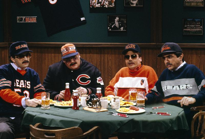 "The ""Bill Swerski's Super Fans"" skit on Saturday Night Live."