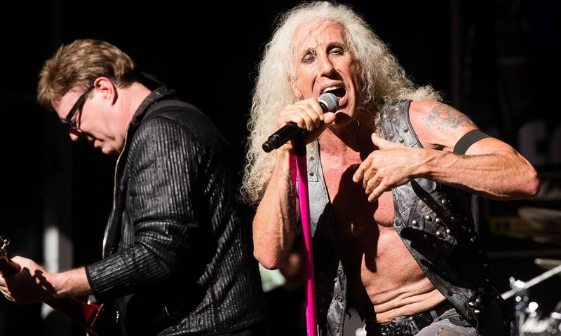 Twisted Sister performs on the Fox News Channel September 2016