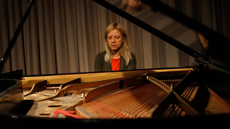 Valentina Lisitsa performs in the Soundcheck studio.