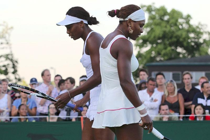 "Serena and Venus Williams in ""Venus and Serena,"" a Magnolia Pictures release."