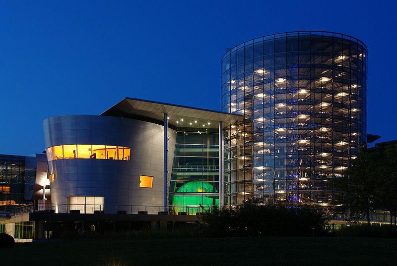 Volkswagen's Transparent Factory in Dresden, Germany