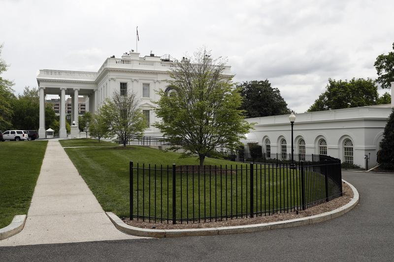 The White House and the James S. Brady Press Briefing Room