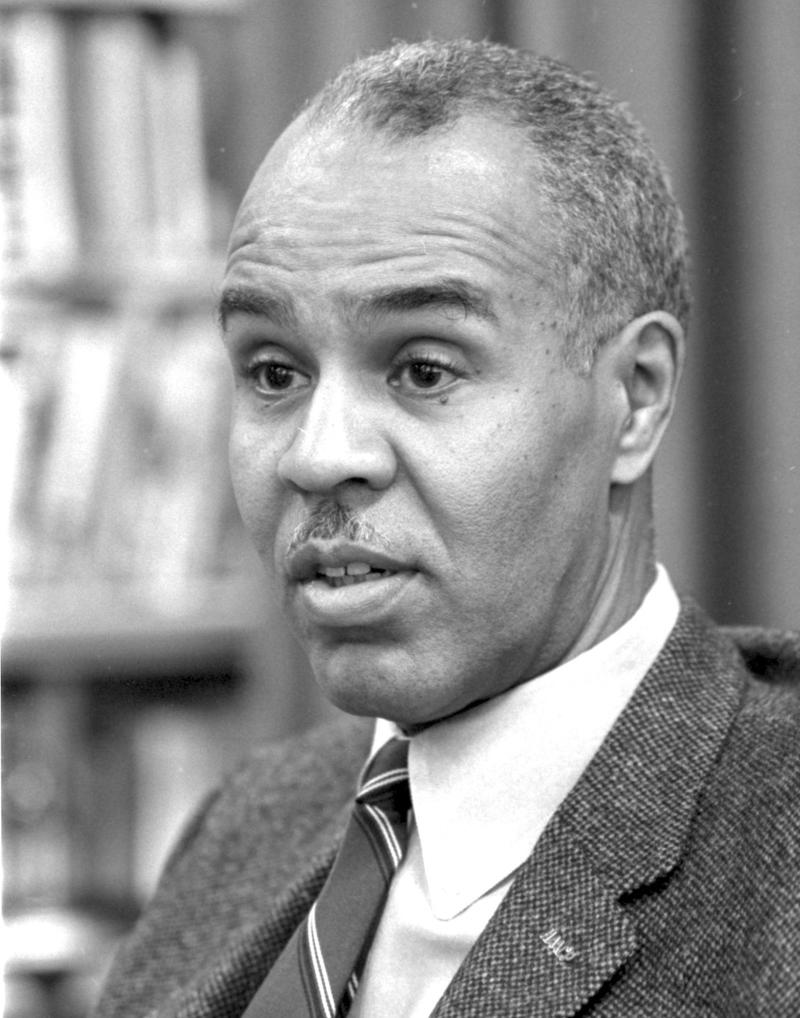 NAACP Executive Secretary Roy Wilkins in 1963.
