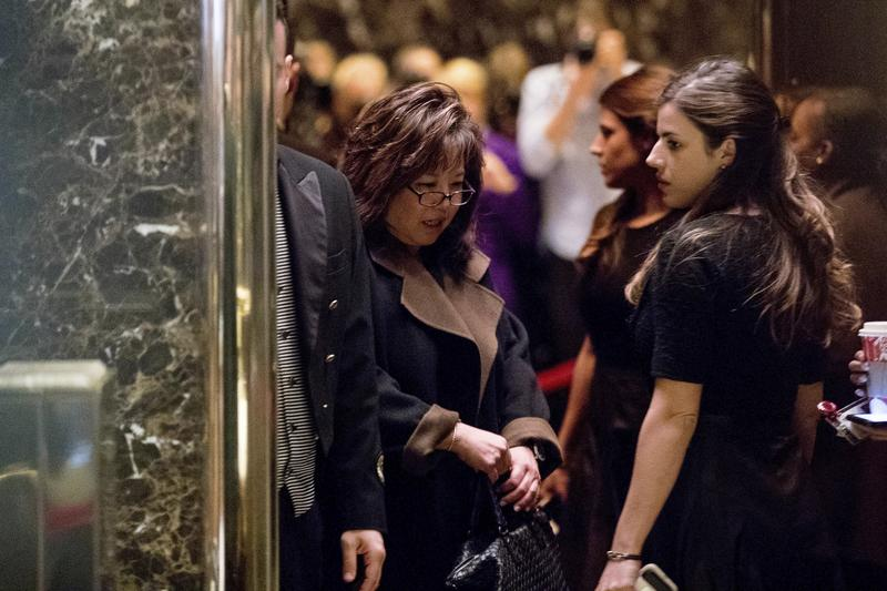 Debra Wong Yang at Trump Tower, December, 2016