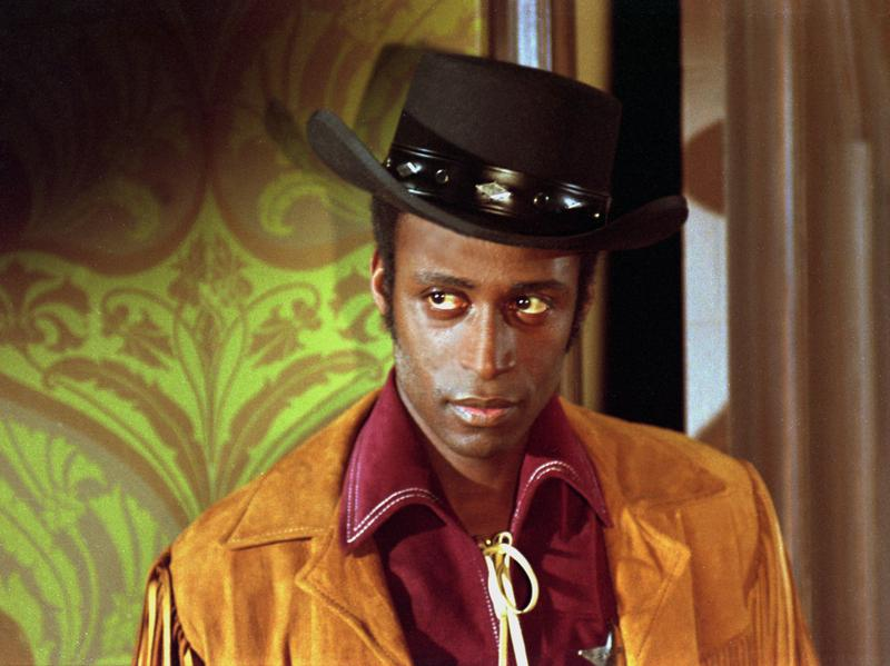 Cleavon Little in <em>Blazing Saddles</em> 1974.