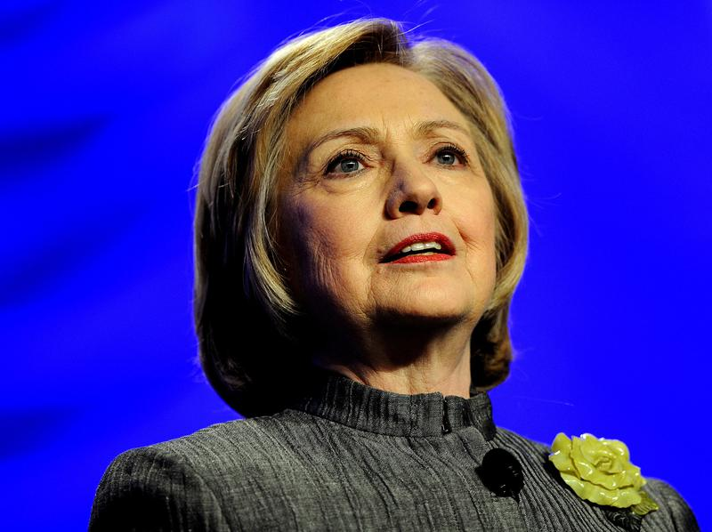 """Hillary Clinton's new memoir, <em>Hard Choices, </em>outlines her four years as secretary of state under President Obama. She talks about her vote for the Iraq War, women's rights and political """"gamers."""""""