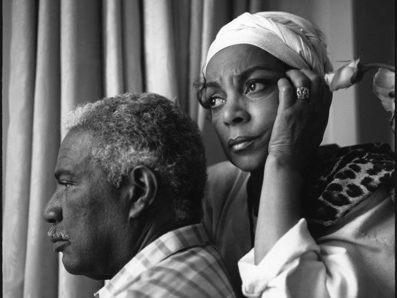 Ossie Davis and Ruby Dee at the 1989 Cannes Festival for the showing of Spike Lee's <em>Do The Right Thing</em>.