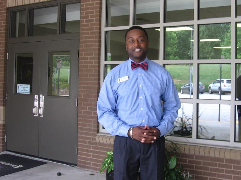 "<em>Ricardo Quinn, principal of Chesney Elementary School in Duluth, Ga., helps develop young black male teachers with the ""Call Me Mister"" program</em>"