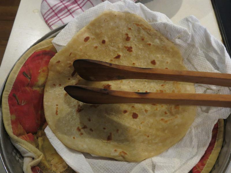 Beenish Ahmed writes that her mother's <em>roti</em> is at the core of most of the family's meals.
