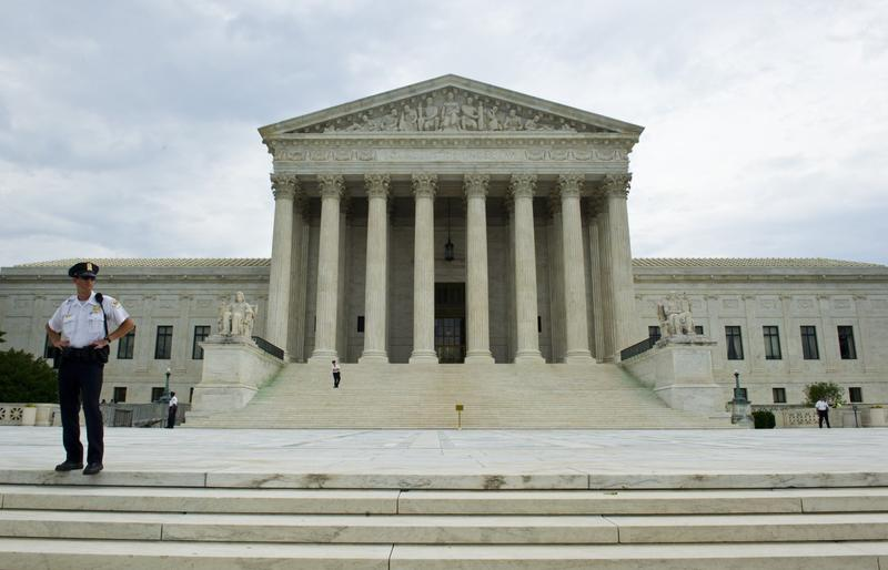 The U.S. Supreme Court in Washington, D.C. is pictured on June 19, 2014. (Karen Bleier/AFP/Getty Images)