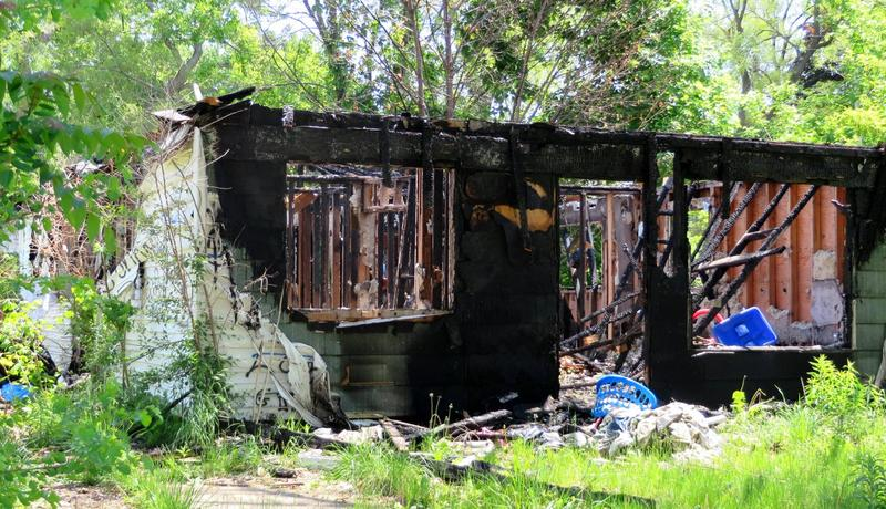 Thirty percent of the structures in Detroit are considered blight. (Lester Graham/Michigan Radio)