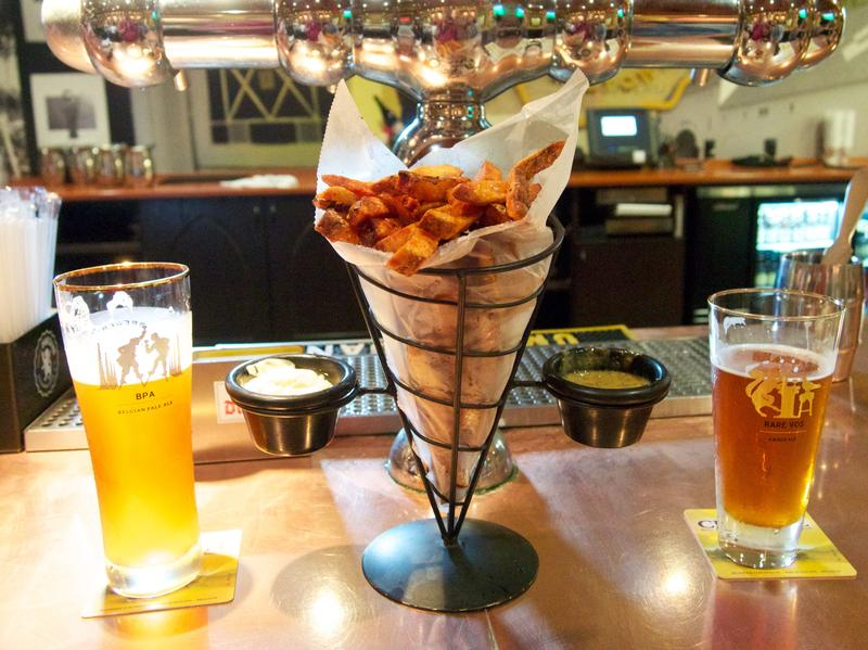 Tuesday afternoon's match between the U.S. and Belgium will pit two countries with burgeoning beer scenes — and a shared love of fries.