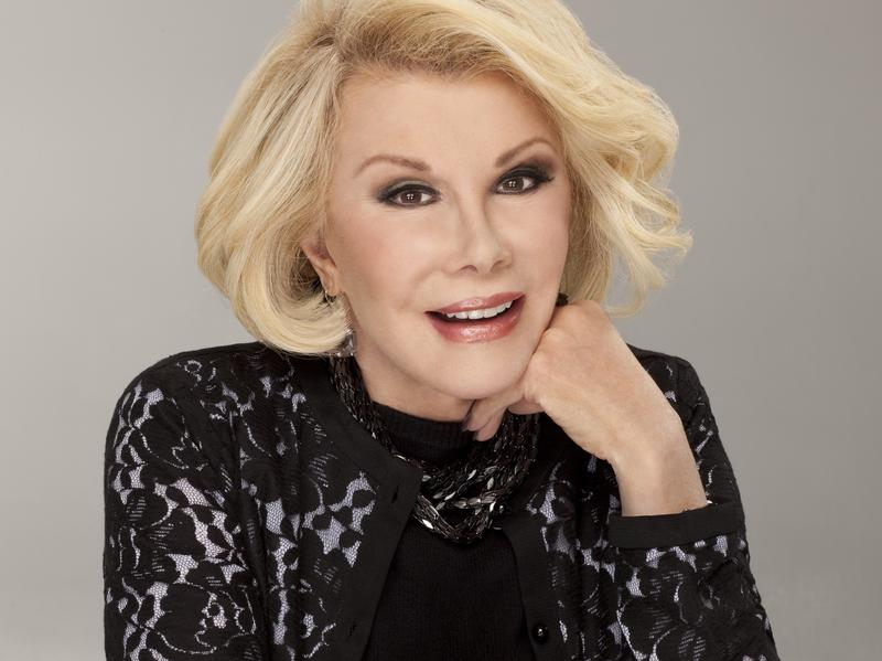 Joan Rivers' other books include <em>I Hate Everyone ... Starting With Me</em> and <em>Men Are Stupid ... And They Like Big Boobs</em>.