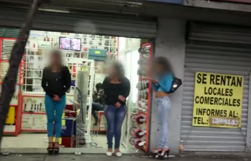Many of the women taken in Tenancingo wind up working as prostitutes in Queens, according to a new Fusion documentary. (Screenshot from documentary trailer)