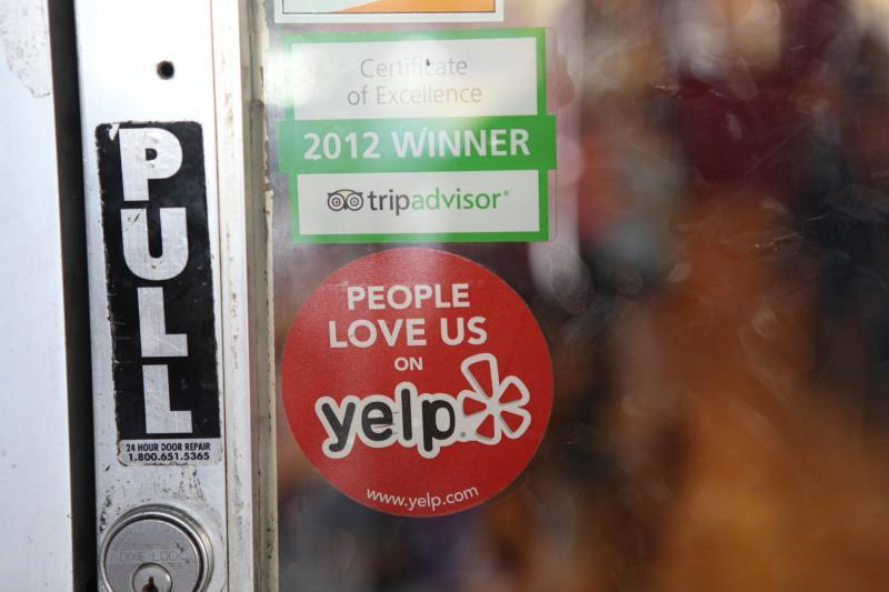 While many of the reviews on Yelp are believed to be real life experiences, some are bogus. (Michael Dorausch/Flickr)