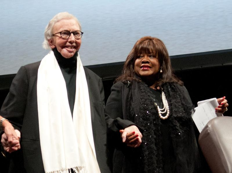 Roger and Chaz Ebert attended a benefit awards dinner in Chicago in October 2011. Just over a year later, Ebert agreed to be filmed for a documentary. And then his cancer returned.