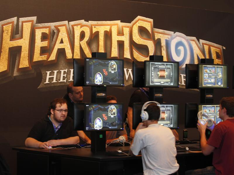 A tournament in Finland for the competitive digital card game Hearthstone raised attention last week when the invitation called for male players only.
