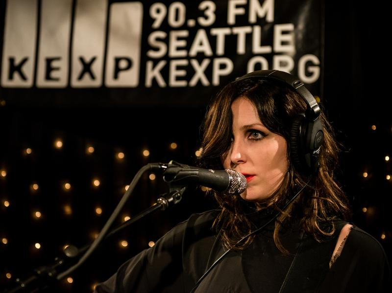 Chelsea Wolfe performs live at KEXP's studios in Seattle.