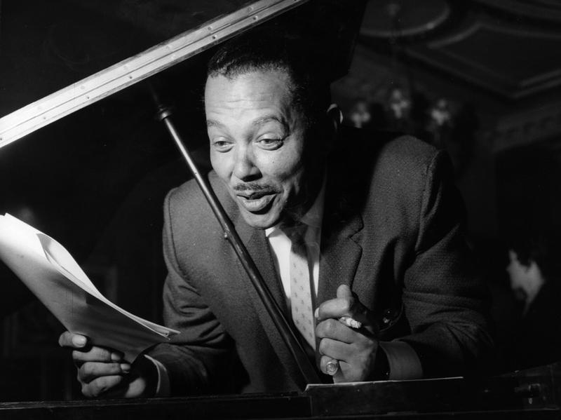 Mobbed by teenage girls wherever he went, Billy Eckstine at one time rivaled Frank Sinatra's popularity.