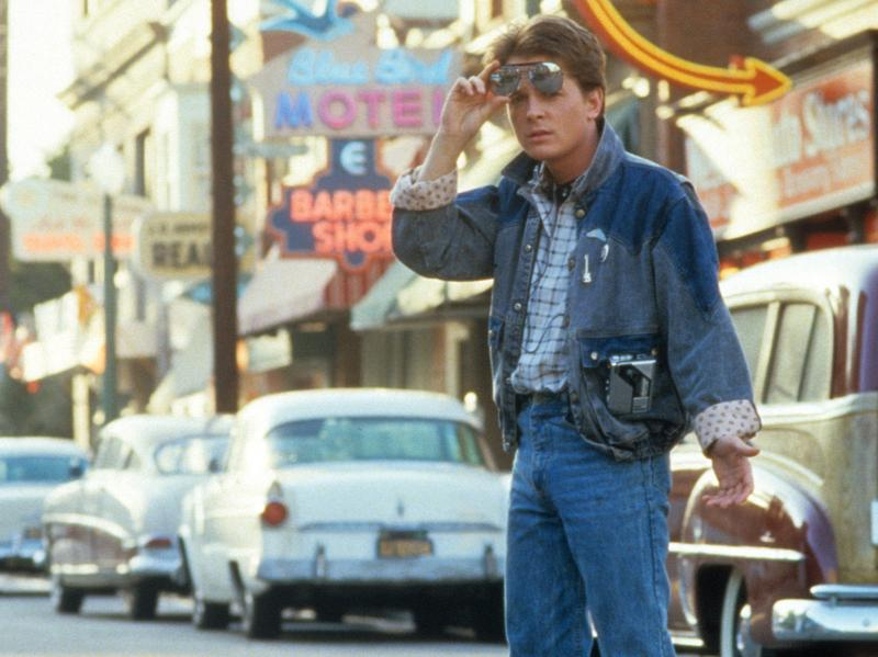 <em>Back to the Future</em> (1985), starring Michael J. Fox, is one of two comedies Chris Klimek included on his list of the 15 best summer blockbusters that came out between 1975 and 2013.