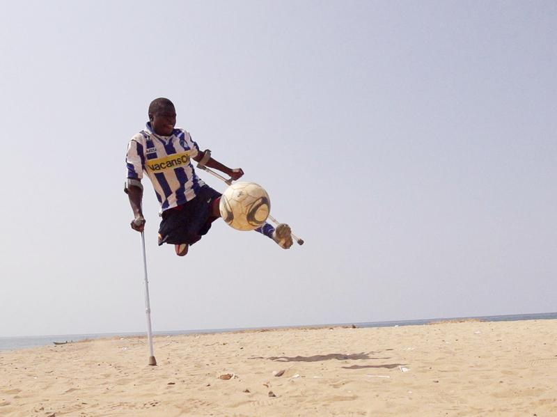 Amputees in Sierra Leone have started their own soccer league.