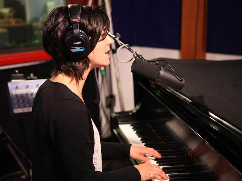 "Sharon Van Etten visits KCRW's studios to perform ""Nothing Will Change."""