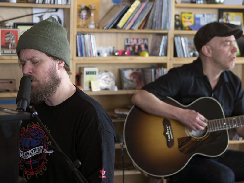 John Grant performs a Tiny Desk Concert.
