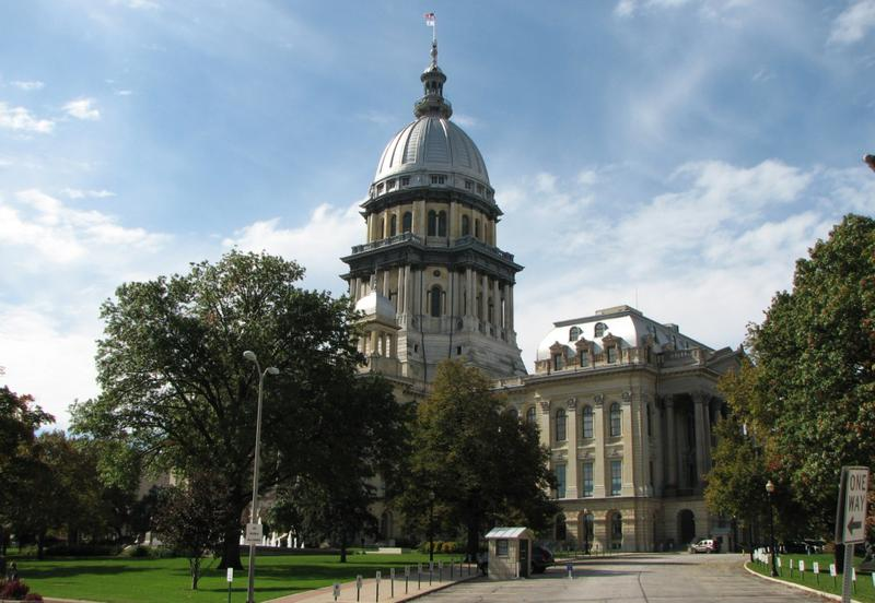 The Illinois Capitol Building is pictured in Springfield, Illinois, 2009. (pioneer98/Flickr)