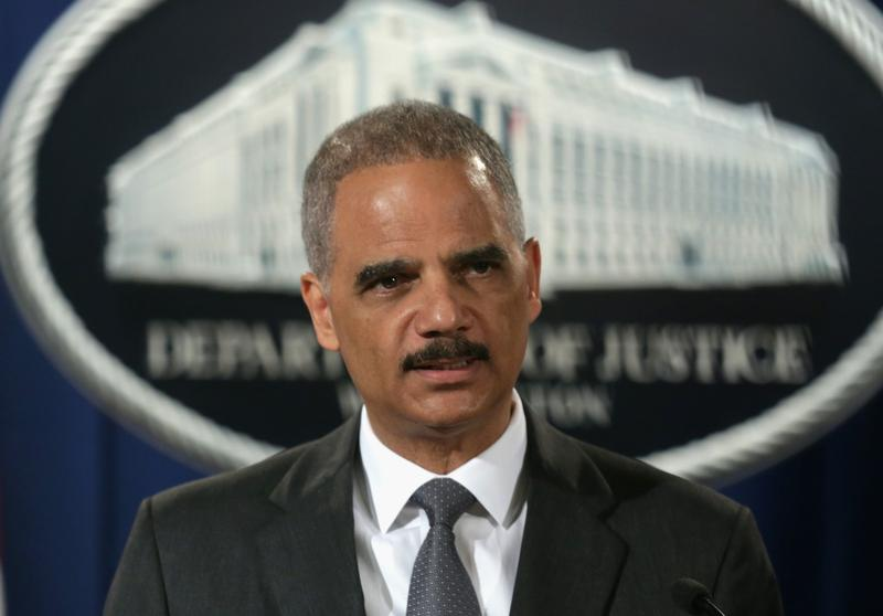 U.S. Attorney General Eric Holder announces  on July 14, 2014 in Washington, D.C., that Citigroup has agreed to pay the government $7 billion for misleading investors about some of the mortgage-backed securities sold prior to January 1, 2009. (Alex Wong/Getty Images)