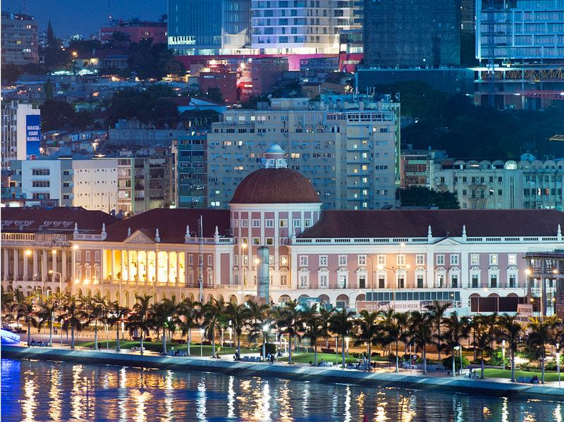 Photos of Luanda, Angola, tell a tale of two cities: sprawling poor neighborhoods and a glitzy waterfront.