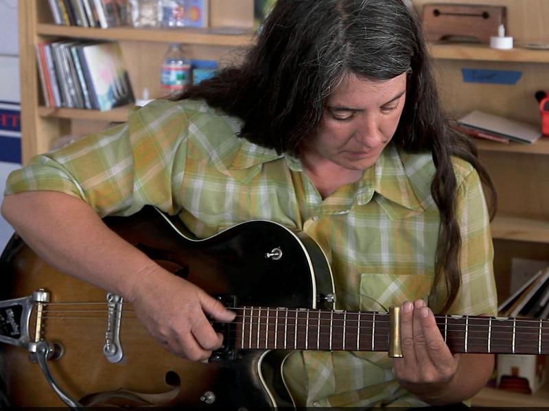 Marisa Anderson performs a Tiny Desk Concert.