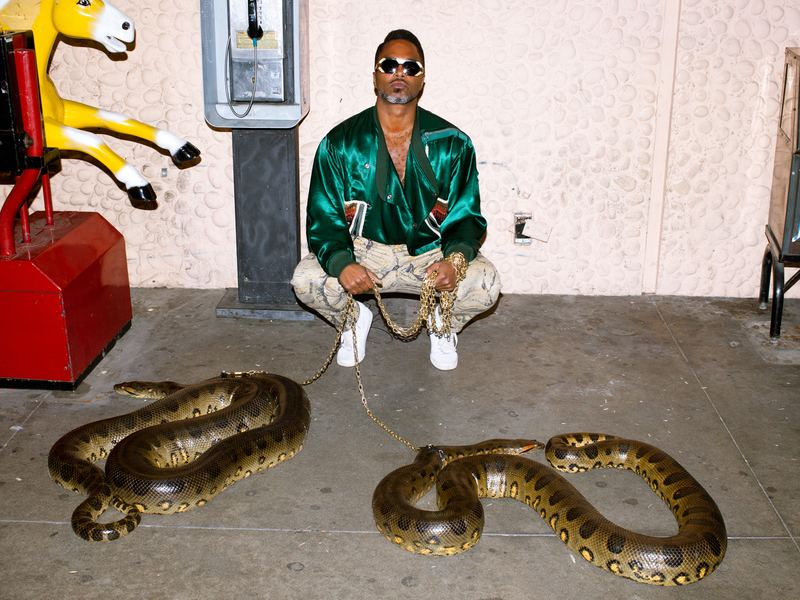 Shabazz Palaces' new record, <em>Lest Majesty</em>, comes out July 29.