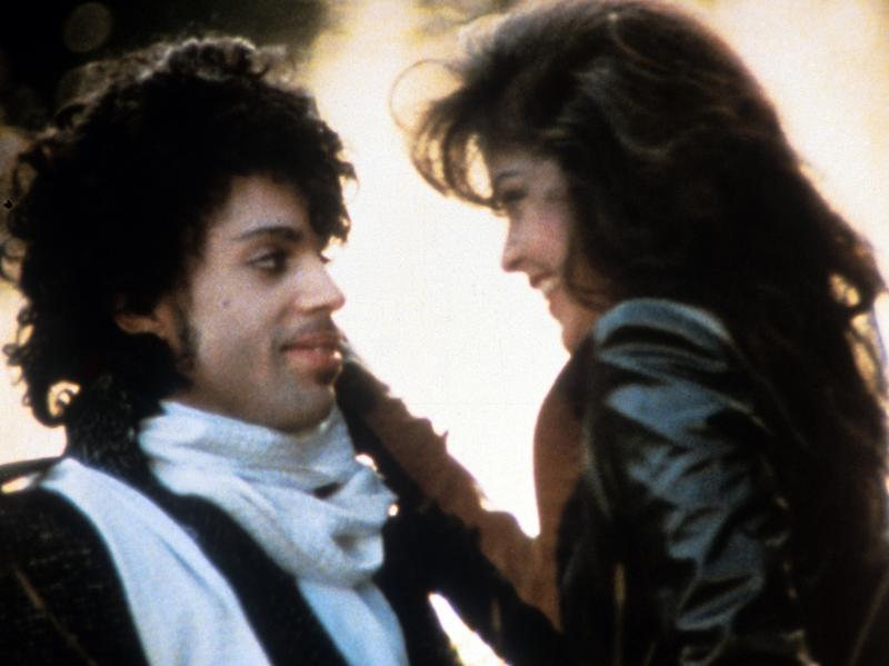 """I never wanted to be your weekend lover"": Prince and his <em>Purple Rain</em> costar Appolonia Kotero."