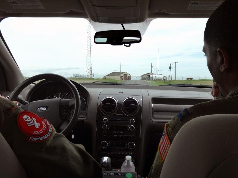 Lt. Raj Bansal and Capt. Joseph Shannon (right) approach Foxtrot-01, a remote nuclear missile base in Nebraska.