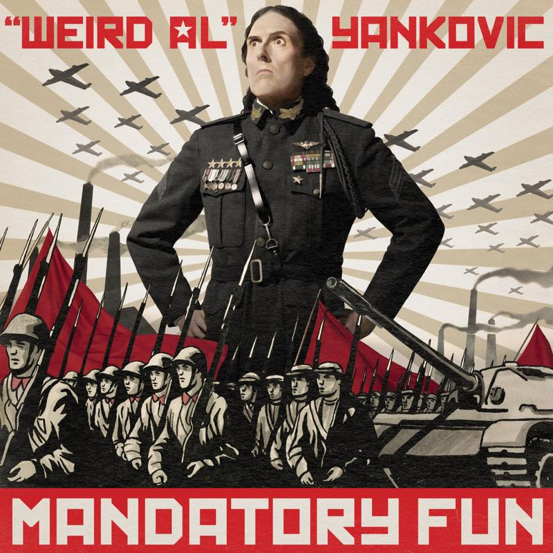 "Weird Al Yankovic's new album ""Mandatory Fun"" is his first to top the Billboard chart."