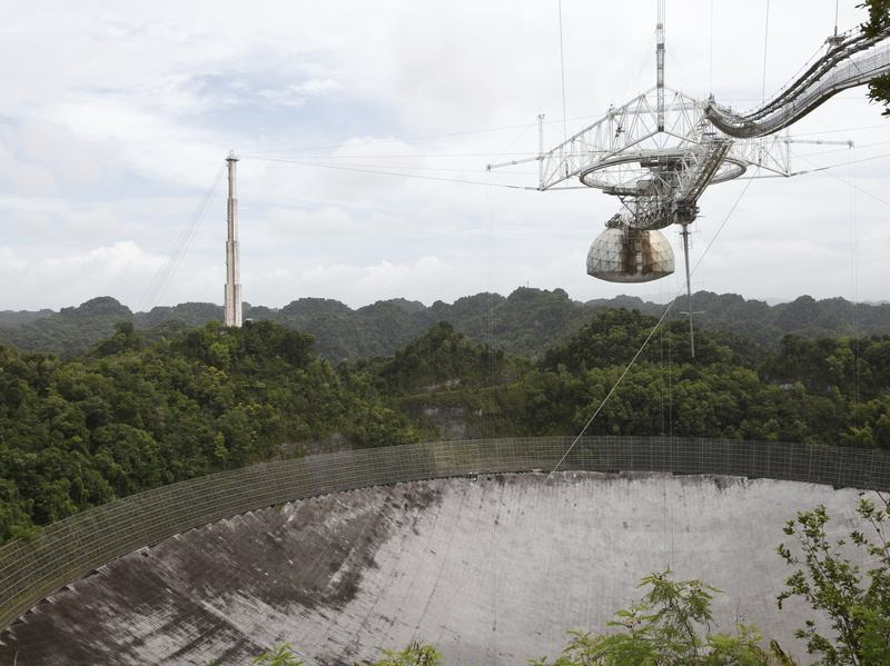 Scientists say a brief burst of radio activity has been detected at the Arecibo radio telescope in Puerto Rico. This new report resembles previous activity detected in Australia, which has scientist debating possible causes, including solar flares, blitzars, or something even more mysterious.