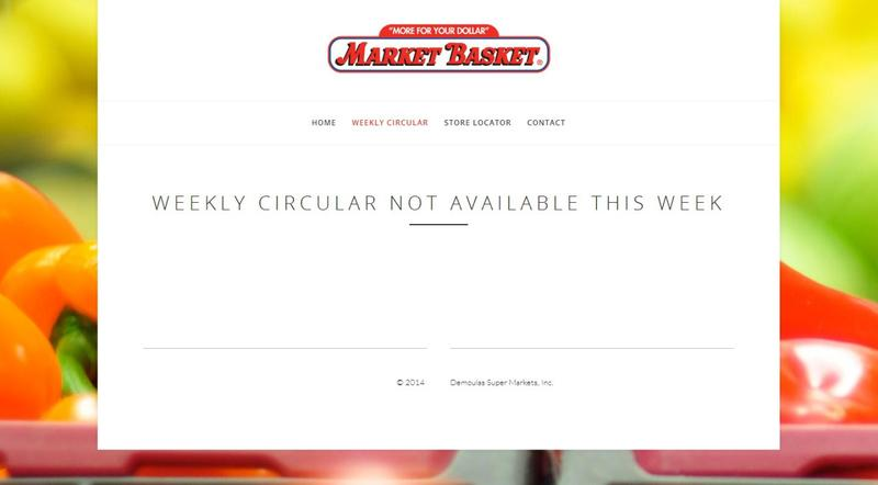 The New England grocery store chain Market Basket is launching its first official website amid employee protests. (demoulasmarketbasket.com)